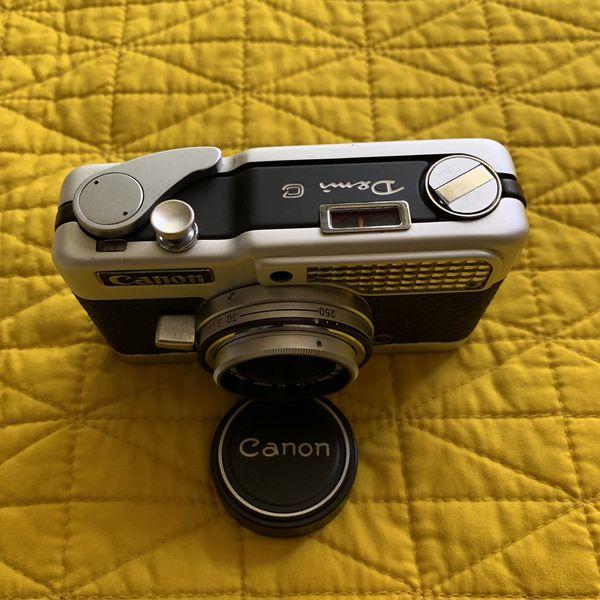 Canon demi c half frame camera