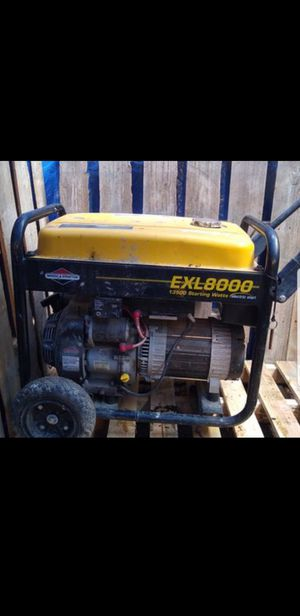 Heavy duty generator. Needs a battery and oil change. for Sale in Lynnwood, WA