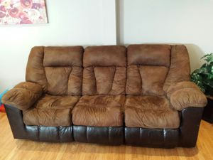 Ashley Manual reclining sofa and loveseat for Sale in Manassas, VA