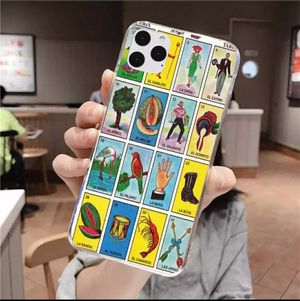 New mexican bingo loteria tpu phone case cover for iphone 11/11promax. for Sale in Los Angeles, CA