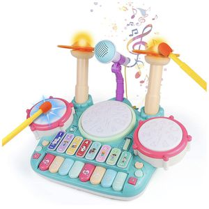 Drum Set for Kids Musical Instruments Toys for Sale in Pompano Beach, FL