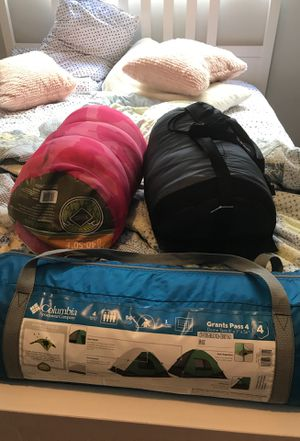 Two sleeping bags and a tent $50 for Sale in Los Angeles, CA