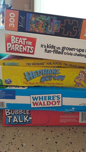 Games and puzzle for Sale in Scottsdale, AZ