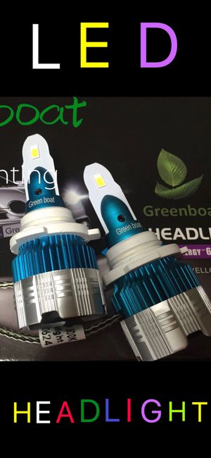 2019 New series 9006 HB4 LED Headlight Bulb Kit Low Beam Fog Light 60W 6000K 7600LM US brand#GreenBoat for Sale in Cerritos, CA