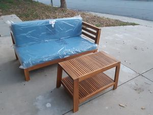 "Patio Set Loung Chair and Table Brand New 57"" × 30"" for Sale in Walnut, CA"