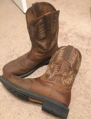 Ariat Mens Boots 10 for Sale in Fresno, CA