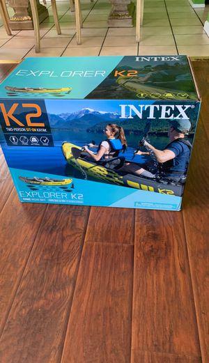 Intex explorer kayak K2 for Sale in Pomona, CA