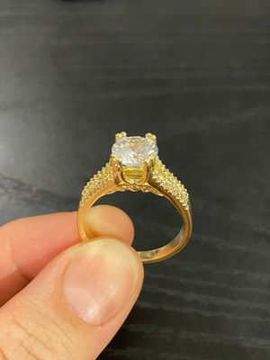 UNISEX 18K Gold Plated over 925 SS Ring- Code BLKR for Sale in Dallas, TX