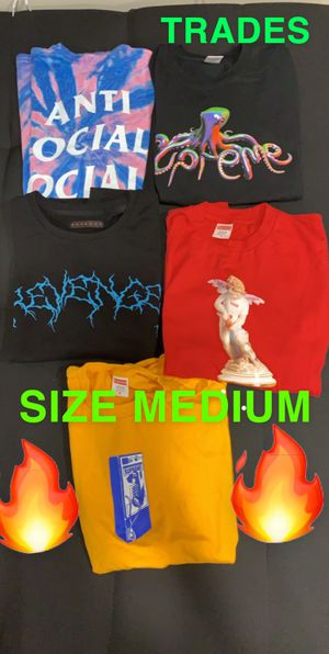 Supreme t shirts size medium authentic for Sale in Long Beach, CA