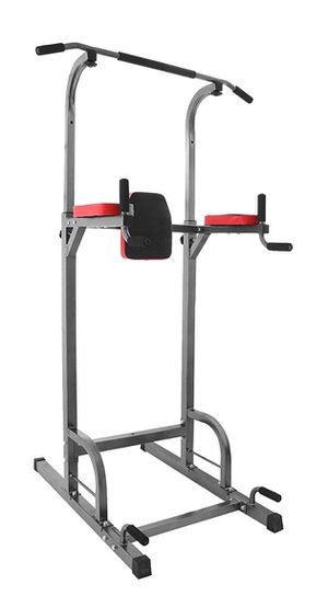 Happybuy Power Towers Adjustable Height Multistation Power Tower 330 440LBS Dip Bar and Pull Up Station Home Fitness for Sale in Philadelphia, PA