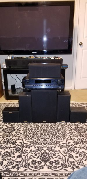 Onkyo Av HT-R540 receiver and six kenwood surround speakers including a subwoofer. for Sale in Fairfax, VA