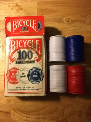 Bicycle Poker Chips for Sale in Madison, MS