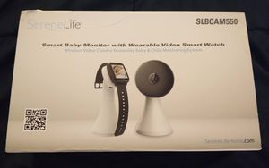 Serenelife Smart Baby Monitor Video Audio Watch for Sale in Portsmouth, VA