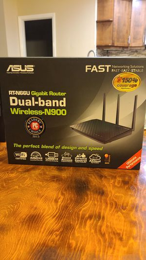 ASUS RT-N66U Gigabit Router for Sale in San Diego, CA