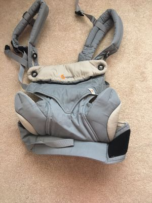 Ergobaby Carrier, 360 All Carry Positions Baby Carrier with Cool Air Mesh, Carbon Grey for Sale in Alexandria, VA