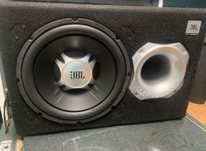"100$ 12"" sub with amp for Sale in Phoenix, AZ"
