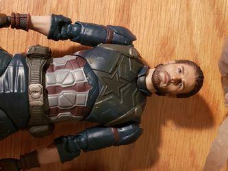 Custom Sh Figuarts Infinity War Captain America for Sale in South San Francisco,  CA