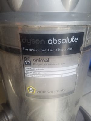 Dyson absolute DC 17 animal upright vacuum for Sale in Phoenix, AZ