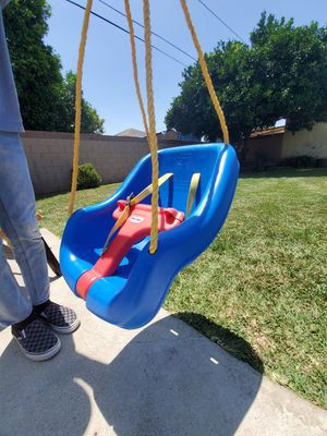 Little tikes swing 2 in 1 snug and secure blue for Sale in Buena Park, CA