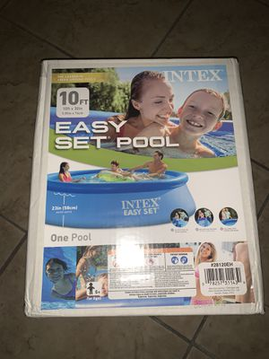Intex easy set 10ft pool for Sale in Frisco, TX