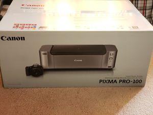 Canon Pixma Pro 100 photo printer for Sale in Aiea, HI