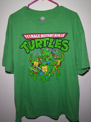 Green ninja turtles tee Mens XL for Sale in Everett, WA