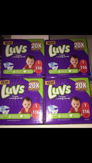 Luvs Diapers Size 1 for Sale in Arlington, TX
