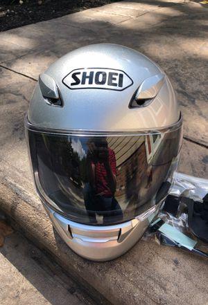 Shoei motorcycle helmet for Sale in Richfield, OH