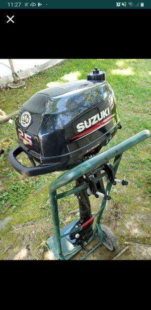 2.5 hp suzuki outboard for Sale in Alexandria, VA