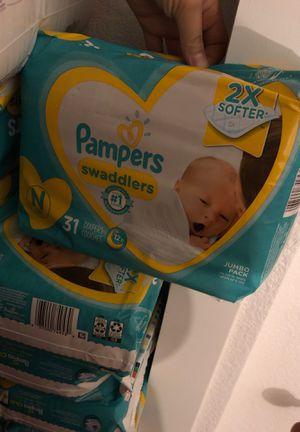 4 packs newborn brand new for Sale in Sacramento, CA