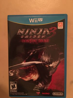 Nintendo Wii U ninja gaiden 3 for Sale in Visalia, CA
