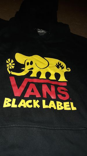 Van's black label hoodie for Sale in Sioux City, IA
