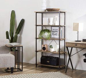 Modern Chic Farmhouse X- Design Bookcase Bookshelf for Sale in Clodine, TX