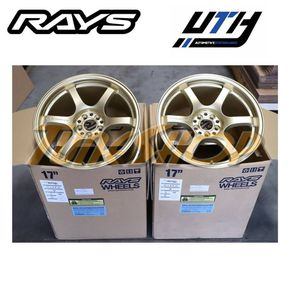 RAYS 57DR 17x9 +38 5x100 WHEELS FRS 86 FT86 BRZ GOLD for Sale in El Monte, CA