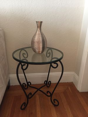 2 Pier 1 Wrought Iron End Tables for Sale in San Francisco, CA