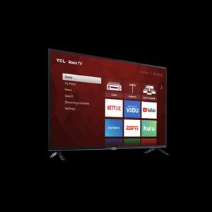 "TCL 55"" Class 6-Series 4K QLED Dolby Vision HDR Roku Smart TV (Like New) - Retails At $599.99 for Sale in Miami, FL"