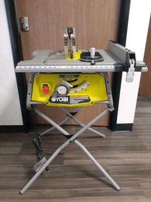Ryobi table saw with metal stand (rts12) for Sale in Glendale, AZ