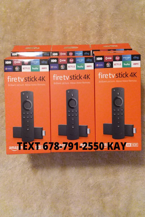 All New / Unlocked /4K HDR Amazon Fire TV Stick