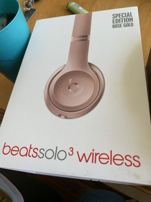 Beats Solo 3 Wireless (Beats by Dre) for Sale in Compton, CA