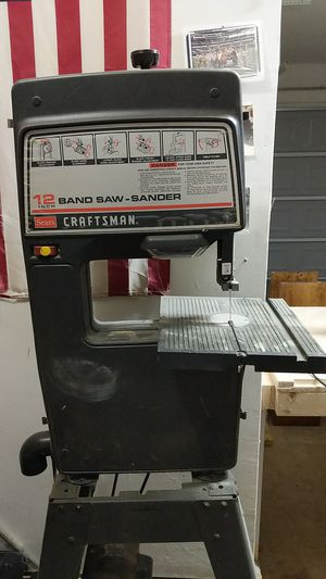 Craftsman 12in band saw- sander for Sale in Fort Belvoir, VA
