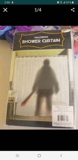 Halloween shower curtain for Sale in MONTGMRY, IL