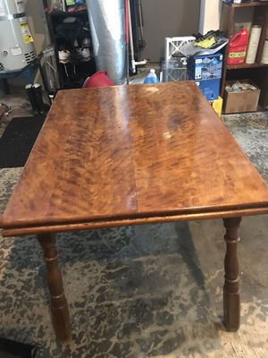 OBO, Solid Maple Table for Sale in Woodinville, WA