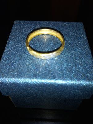 Gold band ring for Sale in Detroit, MI
