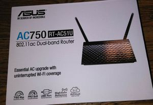 ASUS AC750 Dual-Band Router for Sale in Cleveland, OH