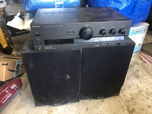 Technics Stereo with two KLH speakers for Sale in Austin, TX