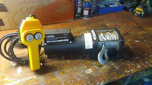 1500lb electric winch (12 volt ac plug) for Sale in Hesperia, CA
