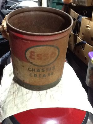 5 gallon antique Esso grease can for Sale in Dover, PA