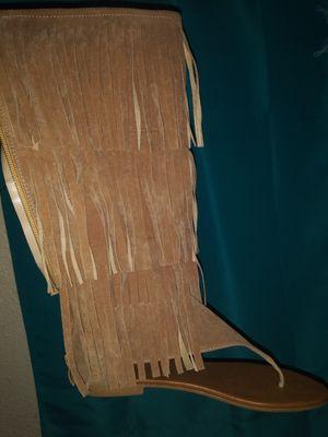 Gladiator fringe sandel for Sale in Austin, TX