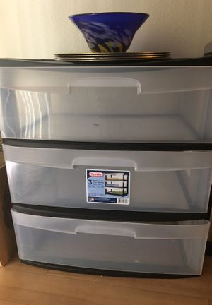 3 Drawer Storage Container for Sale in Alexandria, VA