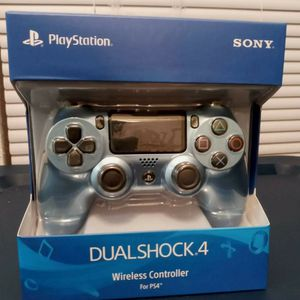 Sony DualShock 4 Wireless Controller for PlayStation 4 PS4 - Gold Blue for Sale in Lake Wales, FL